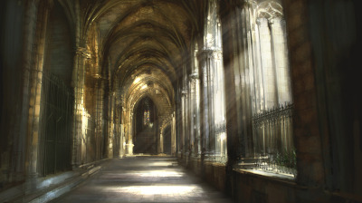 Church Cloisters by *atomhawk