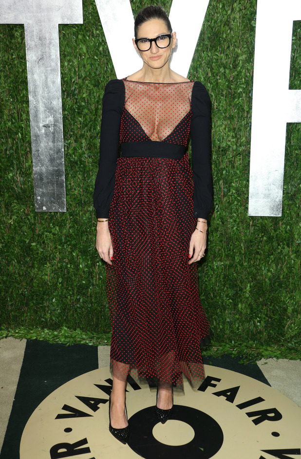 Jenna Lyons Vanity Fair, Oscar Party 2012