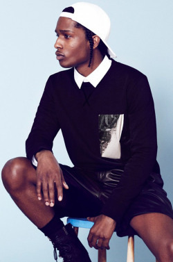 cozm:  A$AP Rocky for Mr. Porter