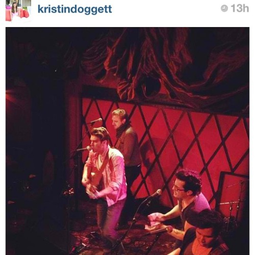 Thanks @kristindoggett for the #rockwoodmusichall photo #repost #rockandroll #nyc #americanauthors  (at Rockwood Music Hall, Stage 2)