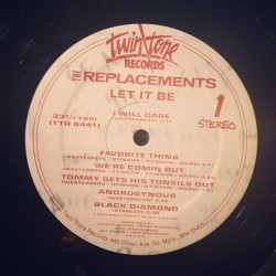 "knifeladder:  The Replacements ""Let it Be"" (Twin Tone, 1984)"