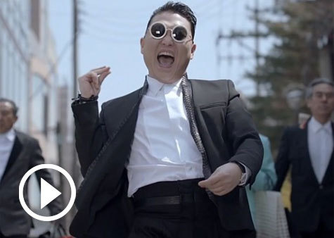 "teendotcom:  PSY's ""Gentleman"" Music Video Surpasses Bieber Record  We're impressed"