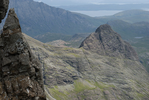 View from the top of Fionn Choire by Buster Bakewell on Flickr.