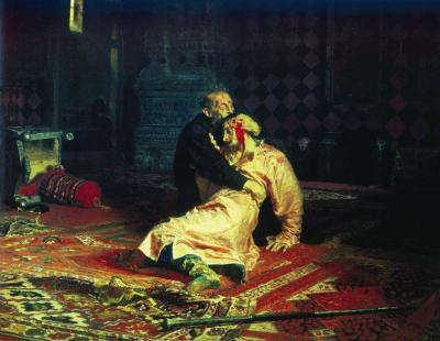 otspiii:  Ilya Repin - Ivan the Terrible and His Son Ivan on November 16, 1581