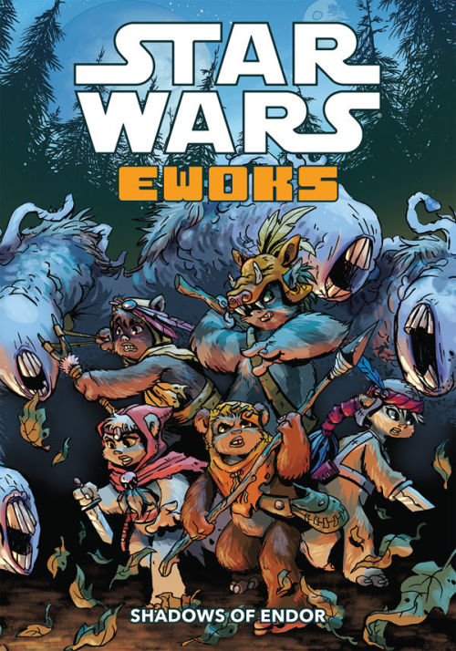 "In case you missed it, it's official! My new graphic novel ""Star Wars: Ewoks - Shadows of Endor"" has been announced and arrives in your treetop village this October from Dark Horse! More info, plus pre-orders here: http://www.darkhorse.com/Books/22-283/Star-Wars-Ewoks-Shadows-of-Endor-TPB"