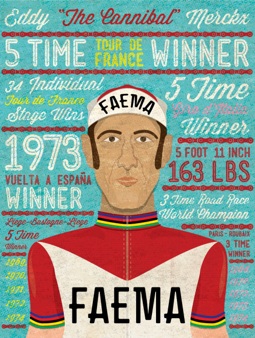 "Eddy ""The Cannibal"" Merckx"