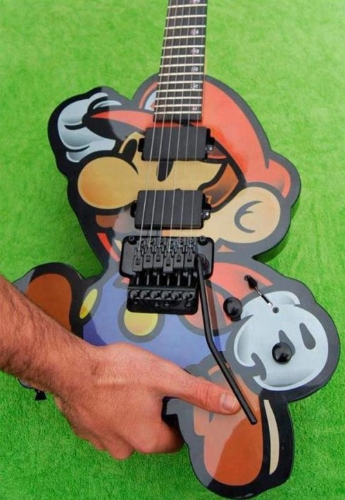 proguitarshop:  I dare you to not get the Mario theme song stuck in your head in three… two…one…