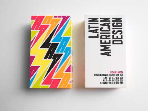 Image of the Day: Identity for LAD, an organization promoting Latin American design worldwide. Design by IS Creative Studio. (Via Brand New)