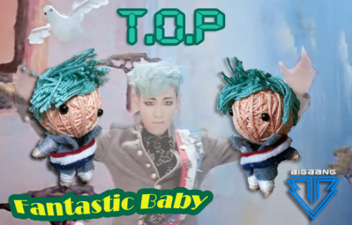 theknottyloft:   Big Bang (Fantastic Baby) - T.O.P  Mini String Dolls Priced at SGD8 @ theknottyloft.tumblr.com