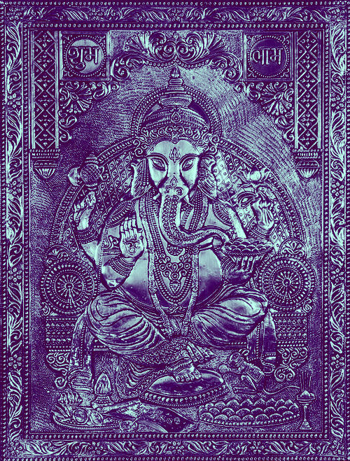 yasminrosso:     Ganesha:: Lord of Success and Destroyer of Evils.