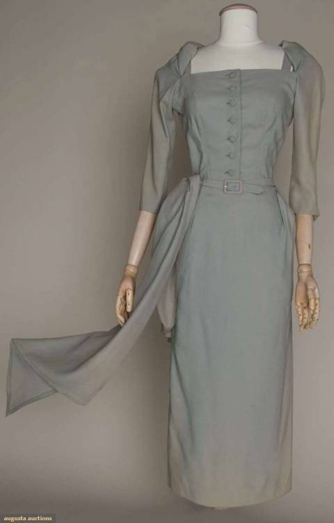 Cocktail Dress Jean Dessès, late 1940s Augusta Auctions