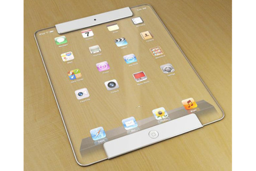 Transparent Apple Ipad Concept by digital artist Ricardo Alfonso