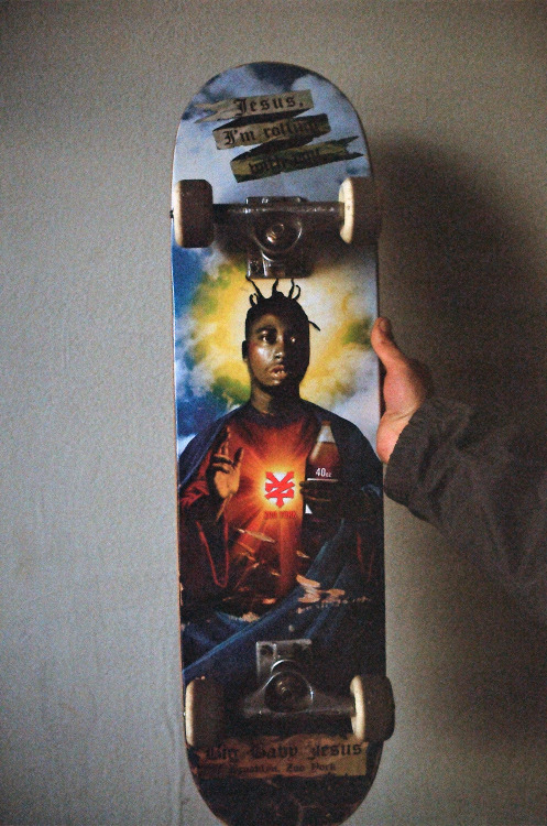 wagw4n:  jnaday:  Long live ODB  No no no, this deck is for your wall! Don't skate it! D: