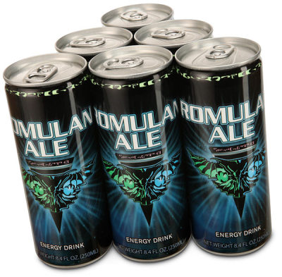 Romulan Ale — For When You Need a Good Jolt!