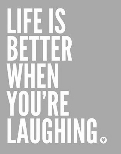 Life is better when…
