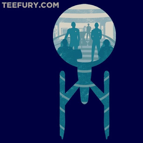 #teeoftheday #ORDERED! #StarTrek To the #MainBridge! @teefury #IntoDarkness #Enterprise #Nerd #Geek #Fashion #tee #tshirt #scifi #geektees