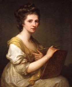 Angelica Kauffman (1741-1807), Self-Portrait, c.1770-75, National Portrait Gallery, London.