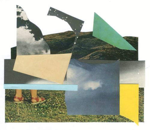 "collageartbyjesse:  ""solid ground"" vincent griffin collab www.landandshape.com/ society6  tumblr  facebook  twitter"