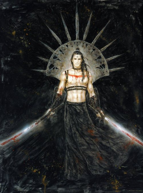 roverpaul:  Dead Moon – An Epic Tale2 by Luis Royo