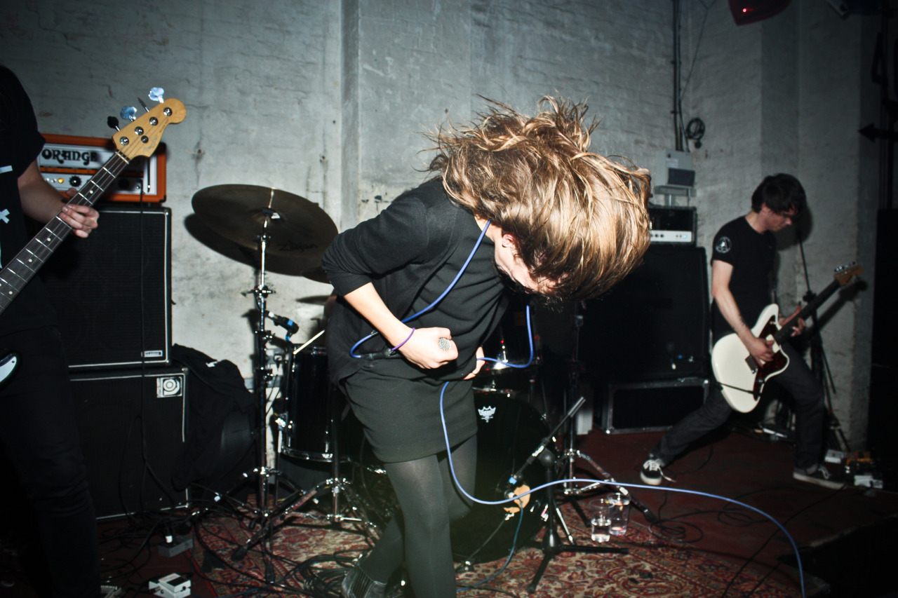 rebeckawolfe:  I'm girl gay for Caro. Oathbreaker - Green Door, Brighton 2011.