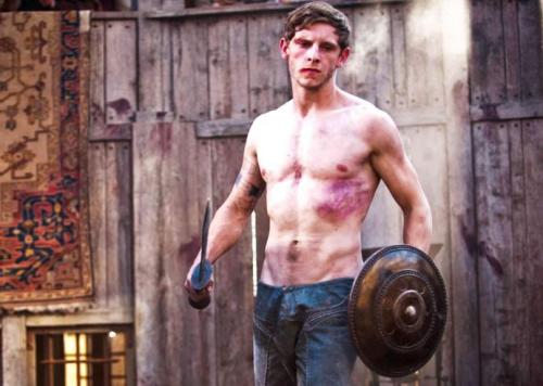 shirtlessbritishmen:  Shirtless Jamie Bell