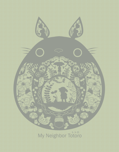 illustratosphere:  My Neighbor Totoro by pronouncedyou