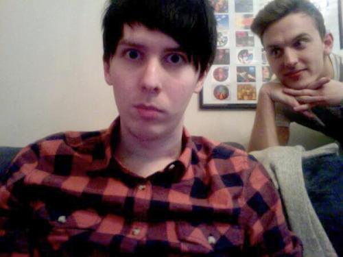 ► (476/1000) photos of youtubers → Phil Lester and Jack Howard