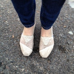 New crochet #toms! #love #shoes