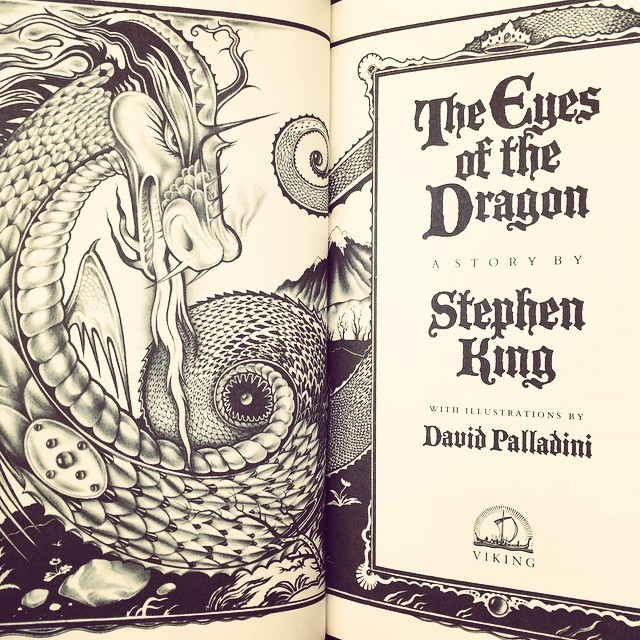 The next read on my @stephenking list. #theeyesofthedragon