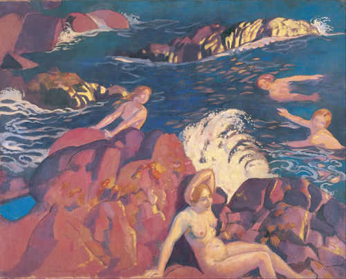 Maurice Denis, Wave, 1916