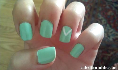 Tiffany & Co. Inspired Nails