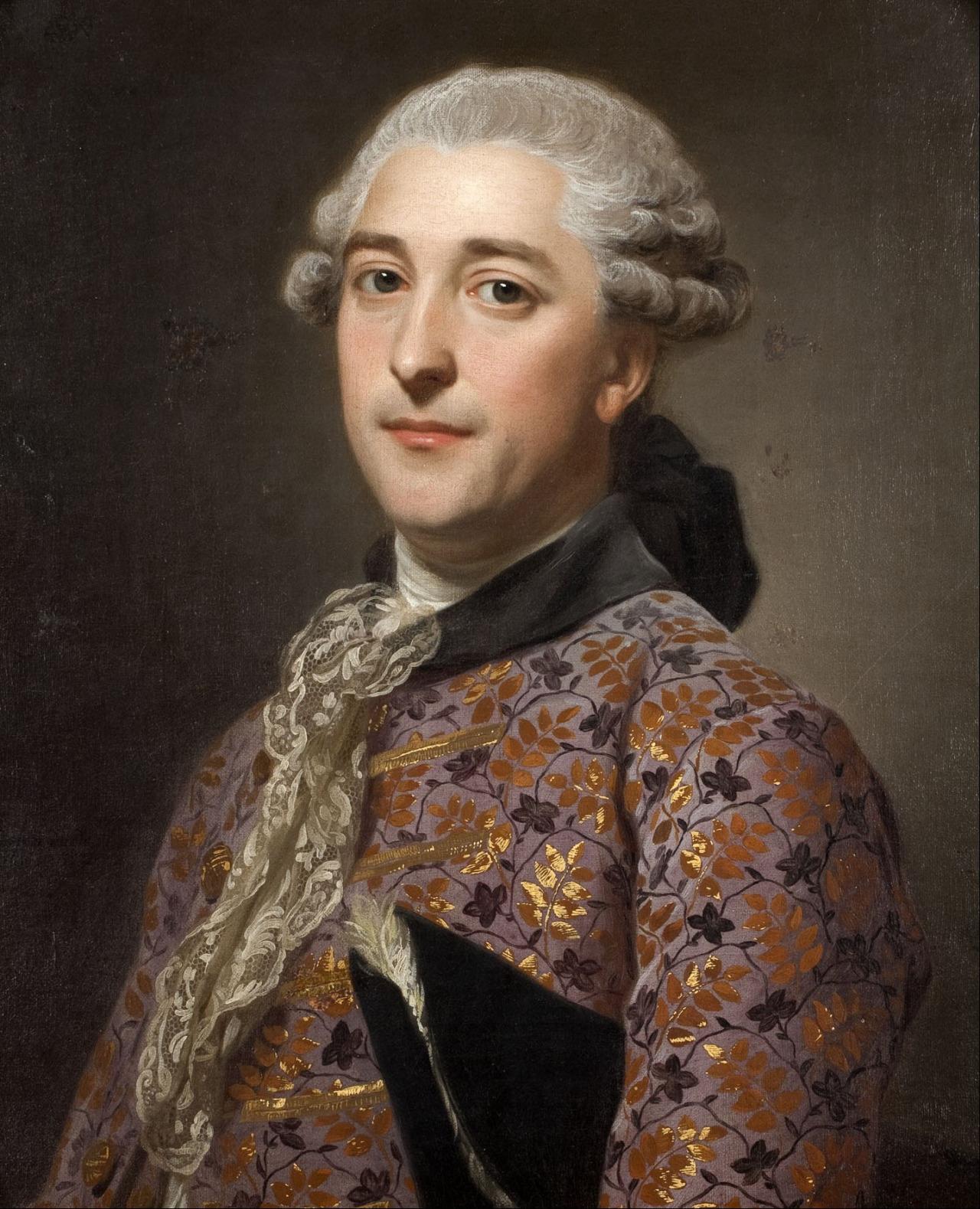 Alexander Roslin - Portrait of Prince Vladimir Golitsyn
