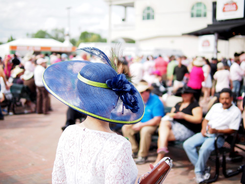 Beautiful hats from the Kentucky derby.