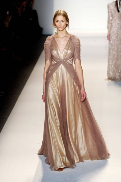 What Would Khaleesi Wear?Jenny Packham Fall 2013