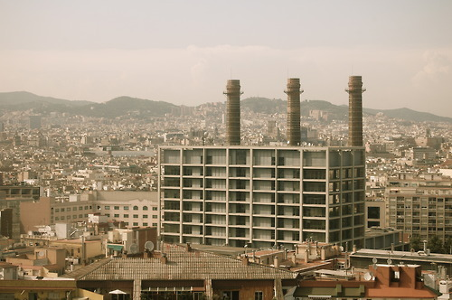 Barcelona with Bethan June 2011 Joe Howlett Original Artwork & Photography 2012