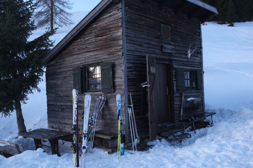 cabinporn:  Small ski cabin in Austria. Photograph by Jake Pritchard. View more here.