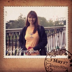 Happy Birthday!😘😋 #bday #birthday #happy  #may #2013 #InstaMag (at Morning Dew Apt)