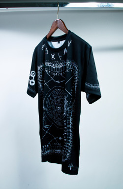 "aaronvale:  briuhomme:  Briu Homme: ""Sages of The Seven Gates"" cut and sew black.  I know you've all been waiting for these."