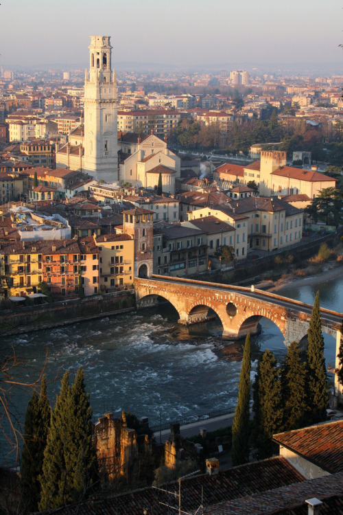 travelingcolors:  Verona, Veneto | Italy (by Jim Skreech)