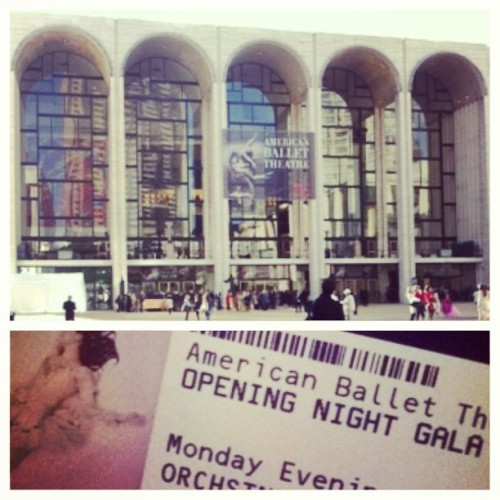 ❤ #abtgala #themet #nyc #2013 (at The Metropolitan Opera)