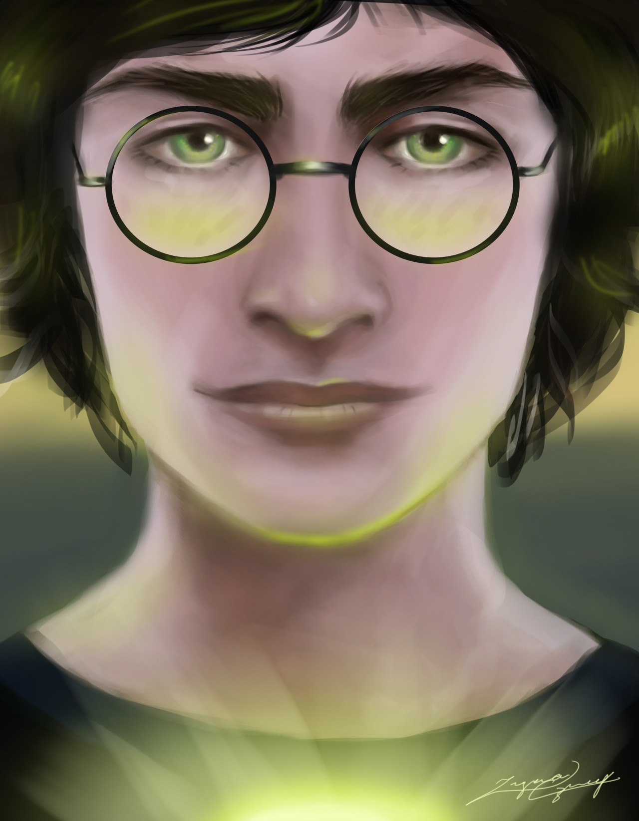 Harry Potter Digital Painting! Which book/movie was your favorite and why???