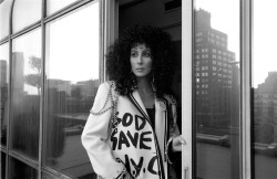 "Tomorrow is Cher's birthday. From the age of 5 I have loved this woman with every fiber of my being. She is my mama. I have cried, laughed, danced, and grown up to her work. She has been the source of hope for me in my absolute worst moments. Her voice, presence, music, laugh, and essence have contributed in forming me into the girl I am today. Whether it's Take Me Home, Perfection, Alive Again, Heart of Stone or any of her other songs, I have found serenity from each one at some point in my life. She has reminded me to be tough, not to take any nonsense (but I bet she would use a different term), and to go with my gut. Her movies got me through my 8th grade and freshman years. Her interviews are put on repeat during those incredibly trying days. I had the immense of seeing her live 3 times within one year. I was at her final show at the Colosseum. I was second row at another show. I consider her to be ""the other woman who raised me.""  From Laverne to Rachel to Loretta to every other character she has stepped into. From a 16 year old California girl named Cherilyn in love with a ""funny looking"" guy named Sonny to the most influential woman in Pop history. From bankruptcy to an Oscar and every other award imaginable. Cher changed my life and changed me. My love for Cher is unlike any of my others. It is not greater than my love & adoration for ""my boys"", Paul, or for Stevie, it is simply a different love. I owe Cher the world. She is my mama. I can never thank her enough for everything she is to me nor for everything she has done for me.  Happy Birthday Cher. I love you. Thank you."