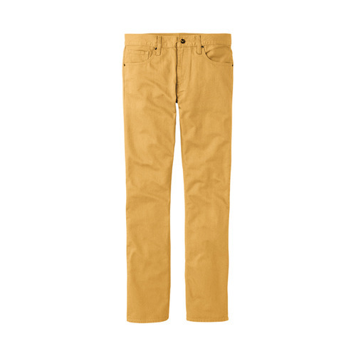 men's mustard jeans, Uniqlo