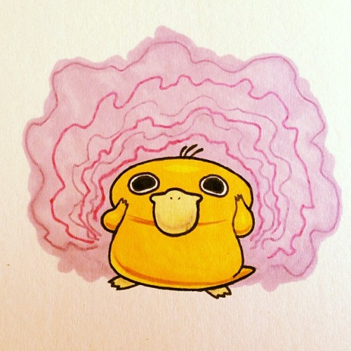 The horrors these eyes have seen… #pokemon #psyduck #doodle #tumblrgram http://bit.ly/17fdRpU