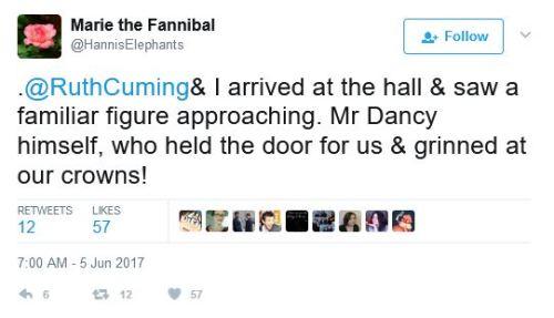 hugh dancy was the best horseman i knew it king arthur hannibal adam events mousehole tweets fannibals