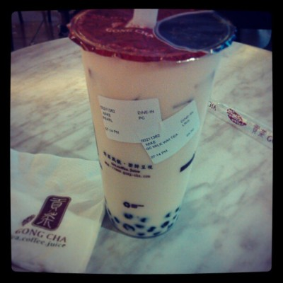 #wintermelontea #treat #gongcha (at Gong Cha)