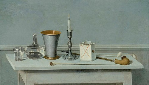 Nils Schillmark Still Life with Candle 1795-97