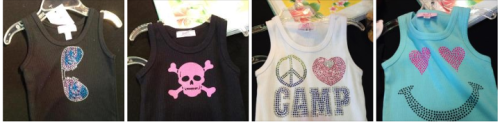 Super Cute camp tanks!!!!  size 2- 10 http://on.fb.me/11qwL8y