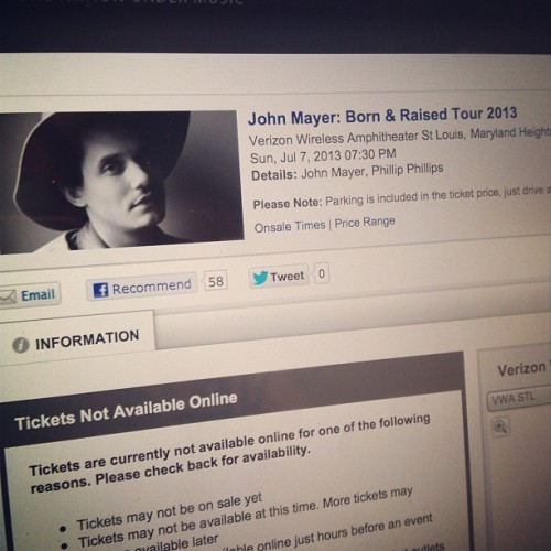 Why yes I AM treating myself to a trip for two to see @mrjcmayer this summer in The Lou! Happy Birthday to ME!