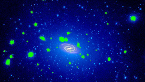mothernaturenetwork:  Have scientists really detected dark matter? Researchers believe that an area high in weakly interacting massive particles, or WIMPs, may lead to a dark matter discovery.